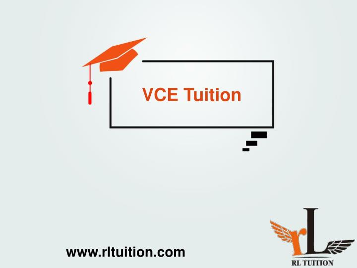 VCE Tuition