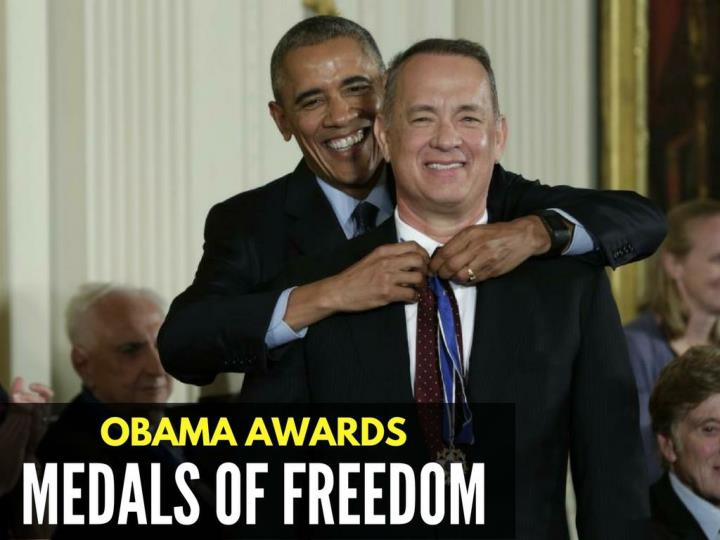 Obama grants medals of freedom