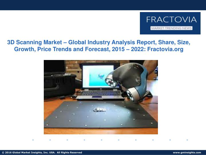 3D Scanning Market – Global Industry Analysis Report, Share, Size, Growth, Price Trends and Foreca...