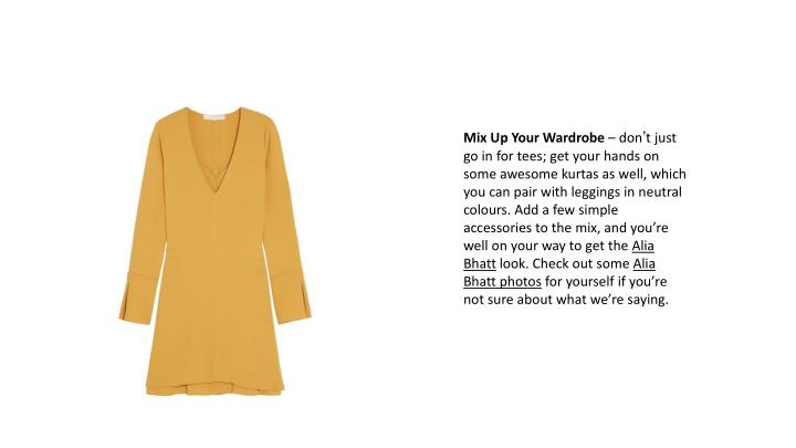 Mix Up Your Wardrobe