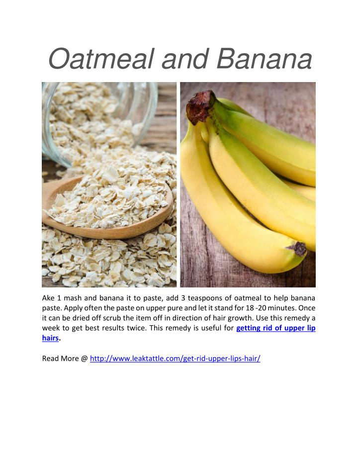 Oatmeal and Banana