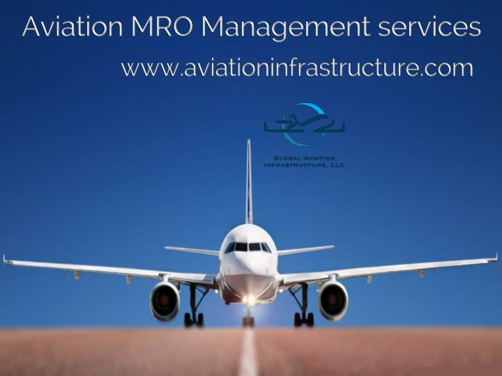 Aviation MRO Management services