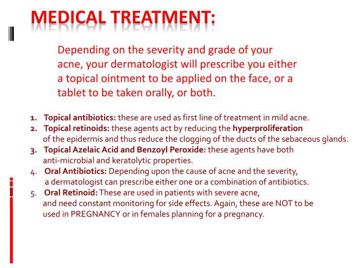 Topical antibiotics: