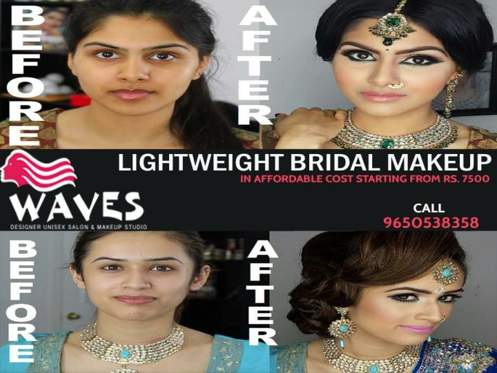 Get reputed beauty salon for wedding makeup services in noida
