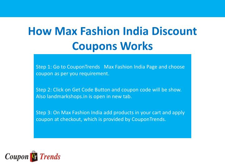 How discount coupons work