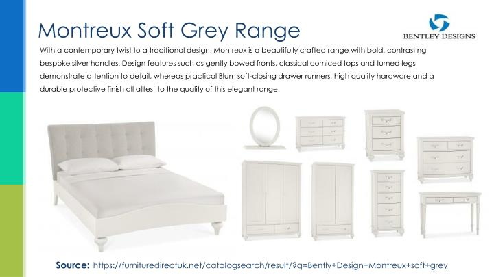 Montreux Soft Grey Range