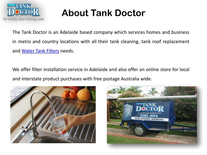 About Tank Doctor