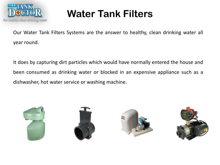 Water Tank Filters