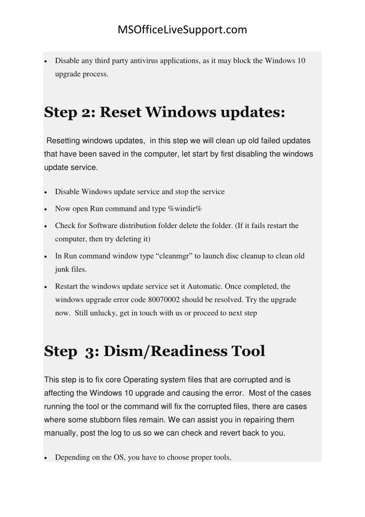 MSOfficeLiveSupport.com