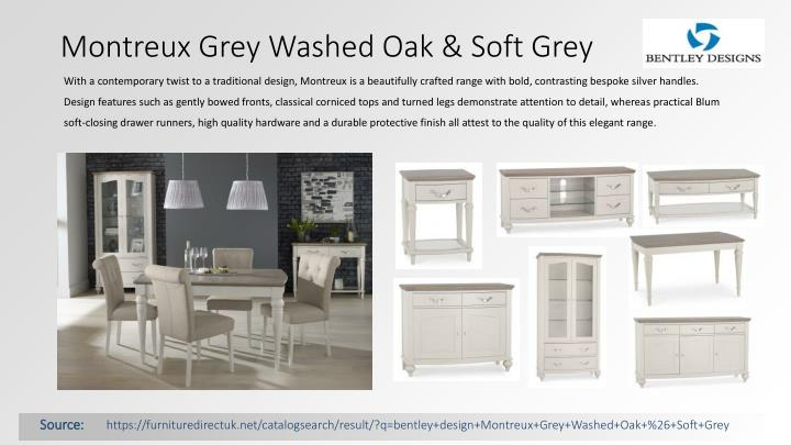 Montreux Grey Washed Oak & Soft Grey