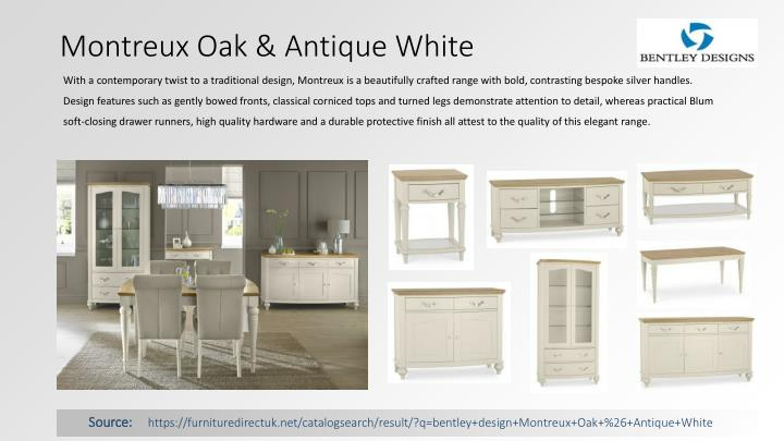 Montreux Oak & Antique White