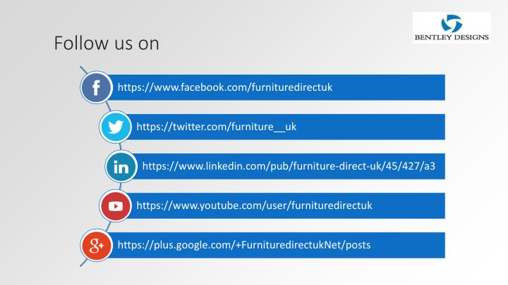Follow us on