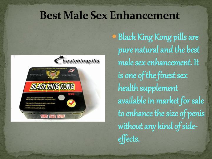 Best Male Sex Enhancement