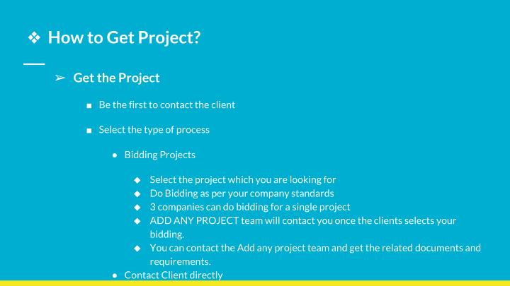 How to Get Project?