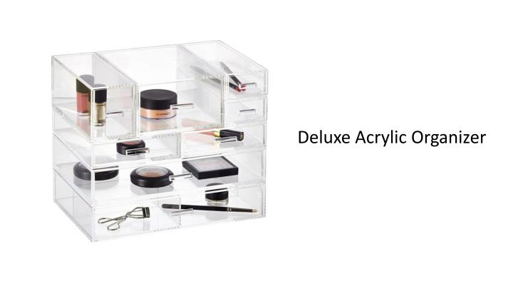 Deluxe Acrylic Organizer