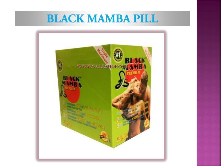 Black Mamba pill