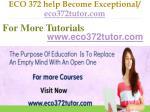 eco 372 help become exceptional eco372tutor com15