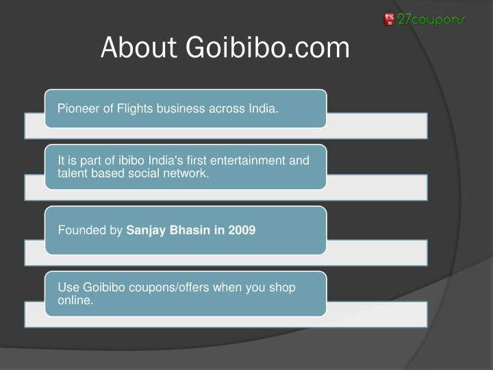 About Goibibo.com