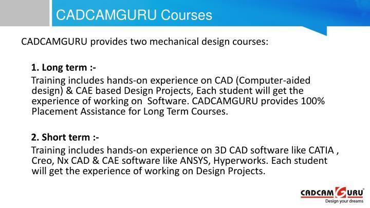 CADCAMGURU Courses