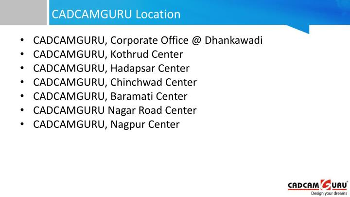 CADCAMGURU Location