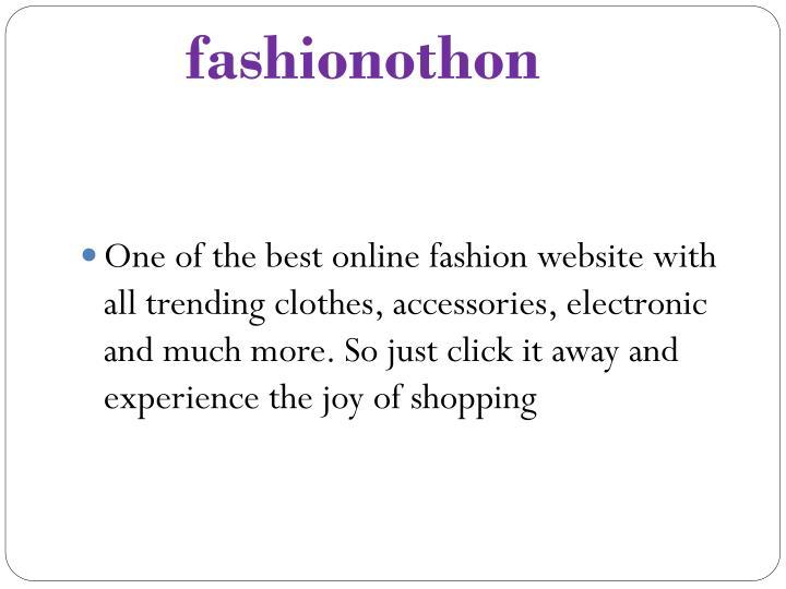 fashionothon
