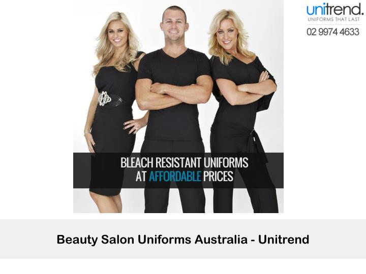 Beauty Salon Uniforms Australia - Unitrend