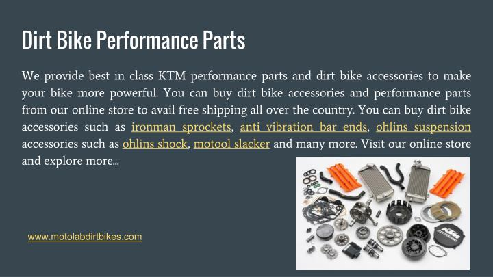 Dirt Bike Performance Parts