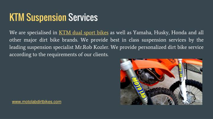 KTM Suspension