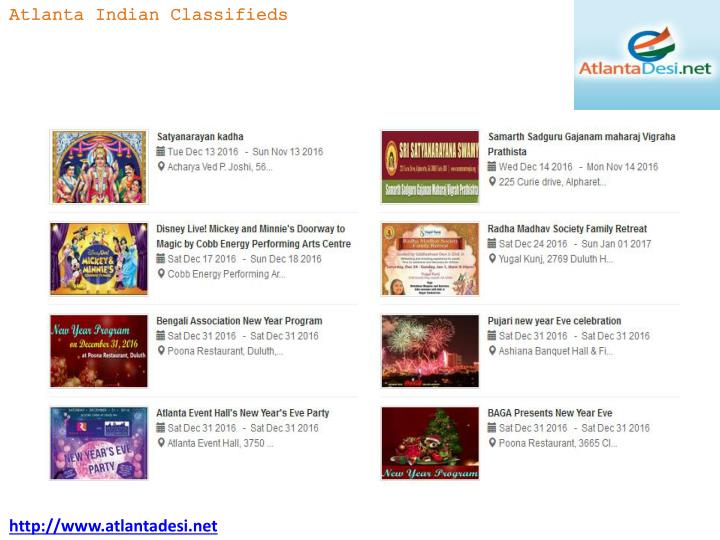 Atlanta Indian Classifieds