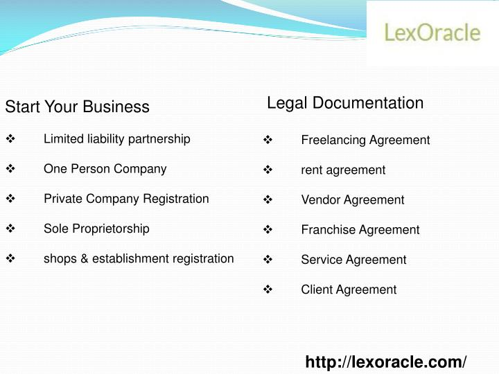 Legal Documentation