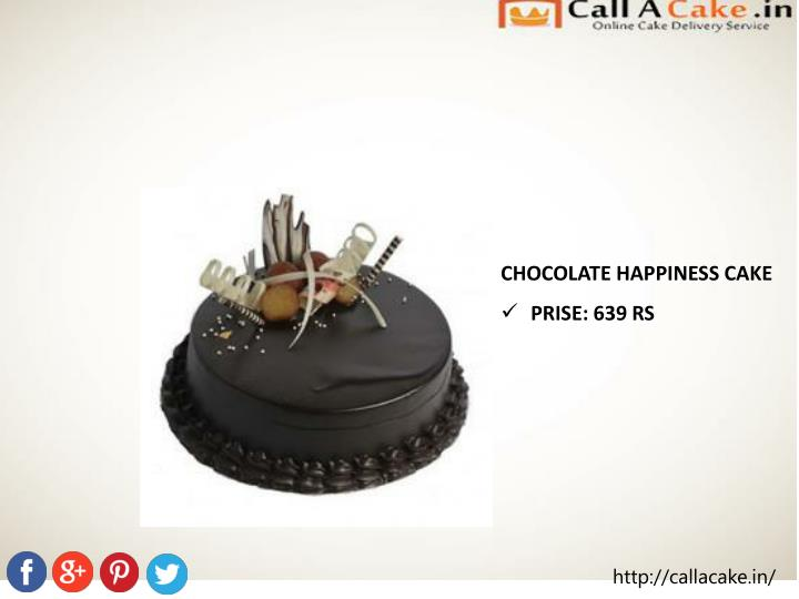 CHOCOLATE HAPPINESS CAKE