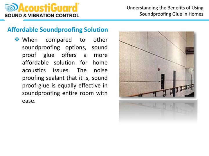 Understanding the Benefits of Using Soundproofing Glue in Homes