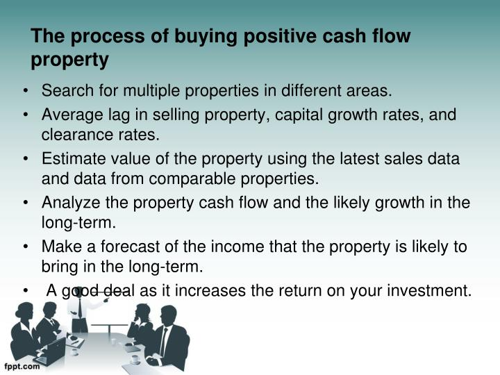 The process of buying positive cash flow property