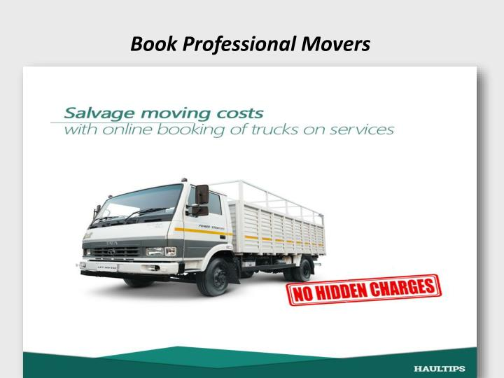 Book Professional Movers