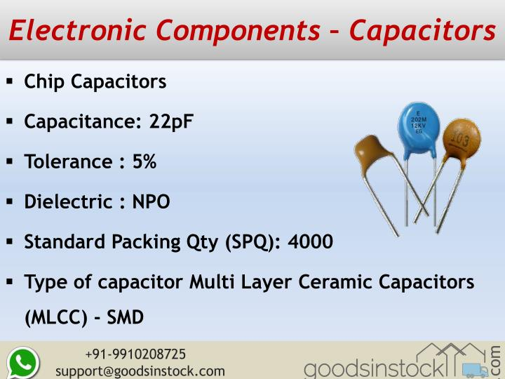 Electronic Components – Capacitors