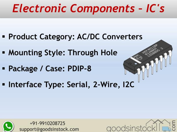 Electronic Components – IC's
