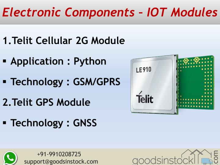 Electronic Components – IOT Modules