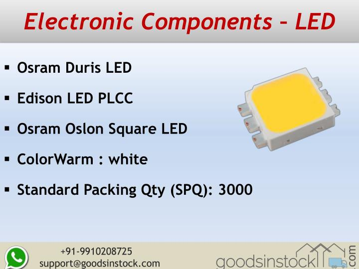 Electronic Components – LED