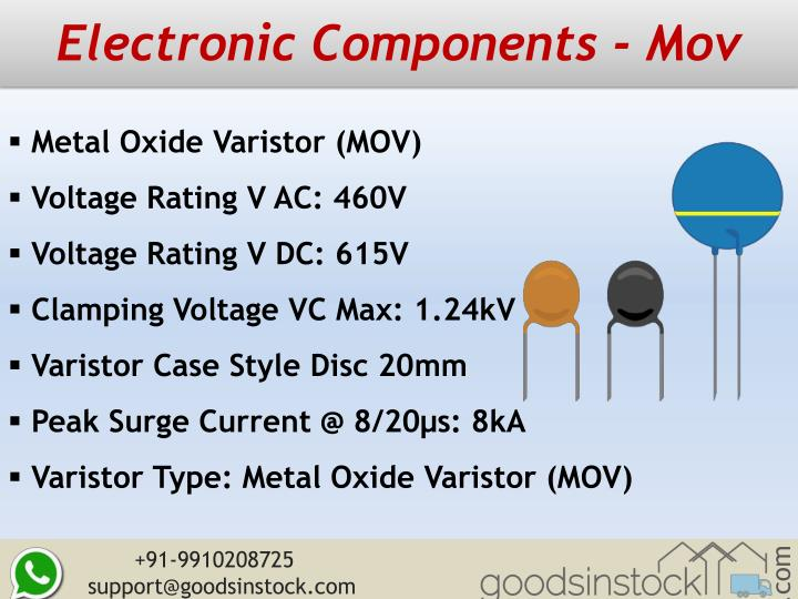 Electronic components mov