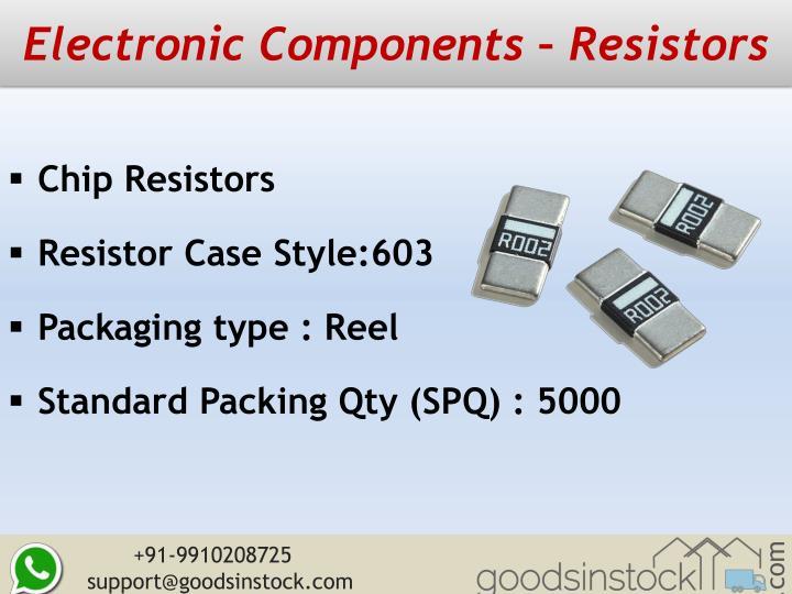 Electronic Components – Resistors