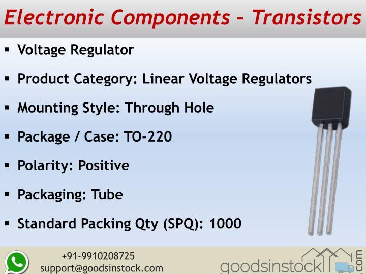 Electronic Components – Transistors