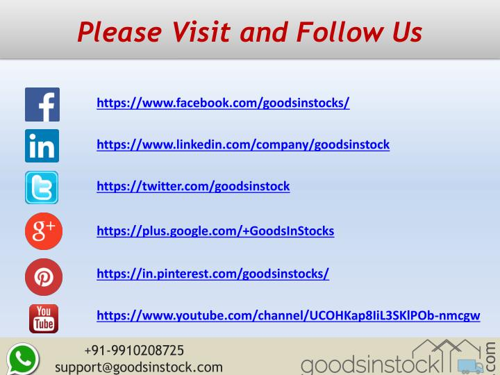 Please Visit and Follow Us