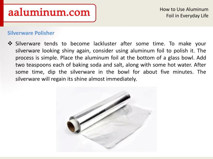 How to Use Aluminum