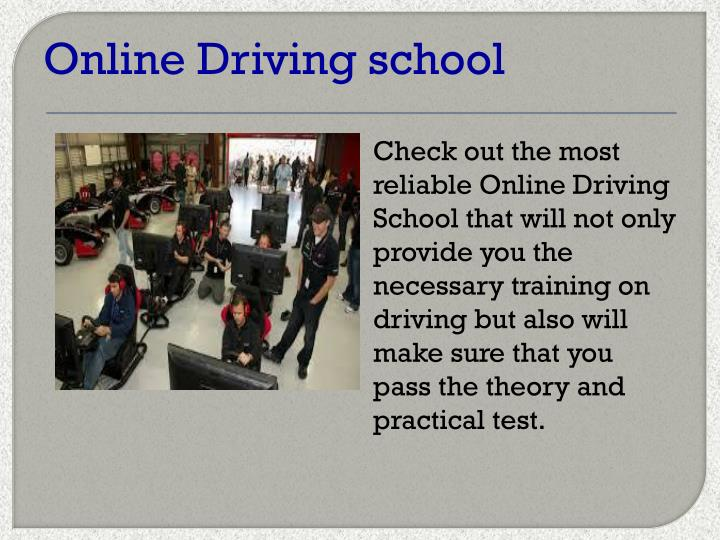 Online Driving school