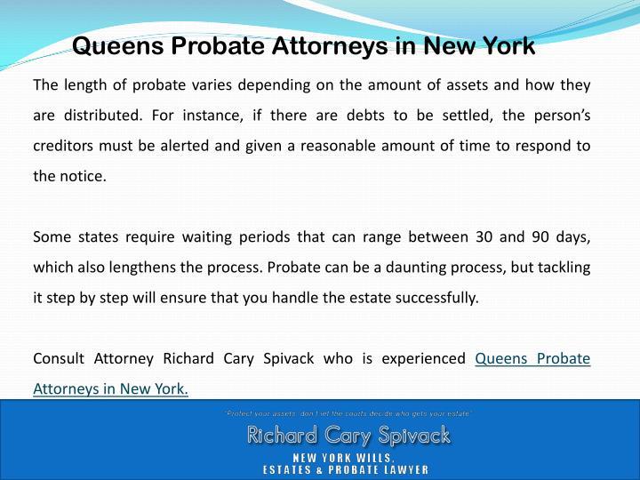 Queens Probate Attorneys in New York