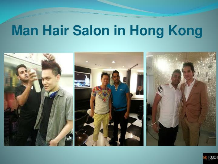Man Hair Salon in Hong Kong