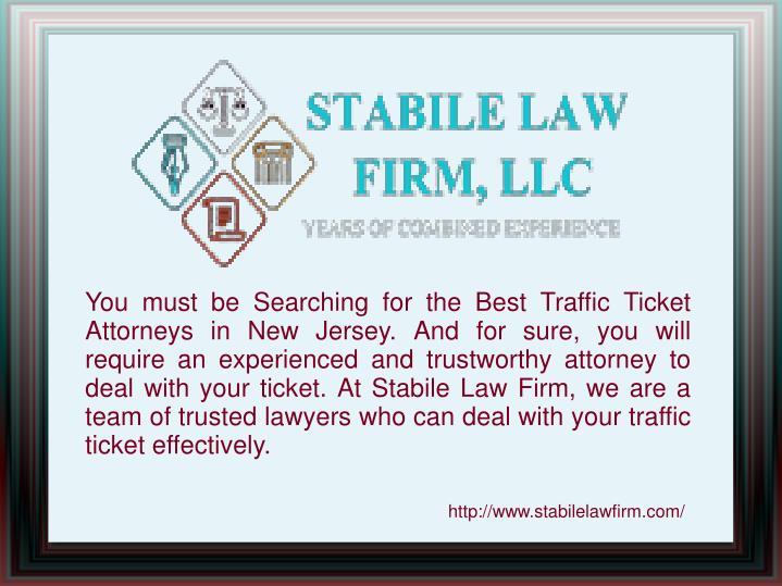 You must be Searching for the Best Traffic Ticket Attorneys