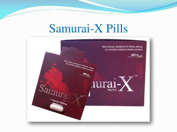 Samurai-X Pills
