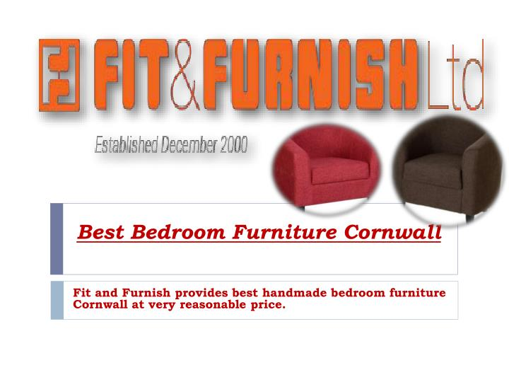 Best bedroom furniture cornwall