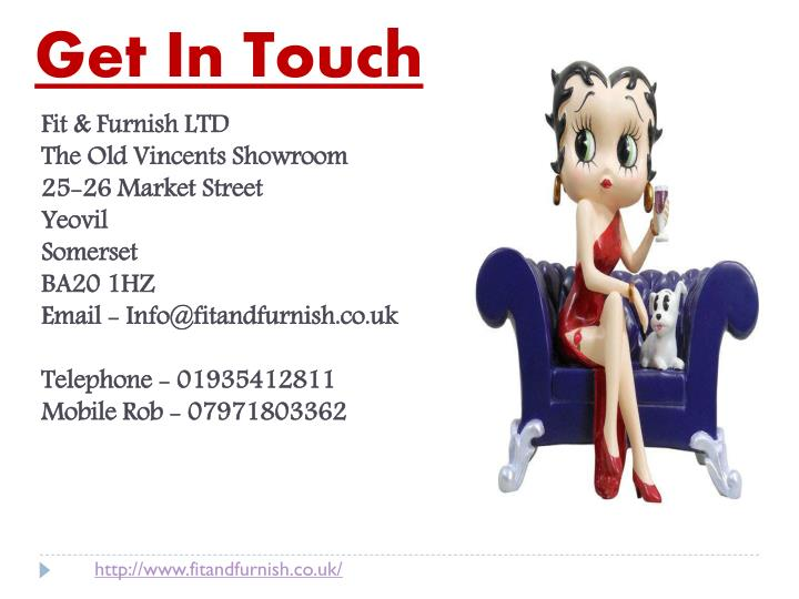 Get In Touch